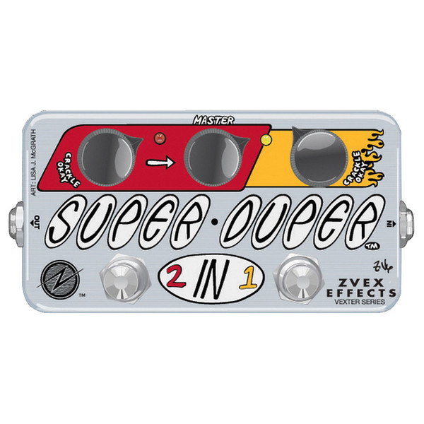 Z.VEX Vexter Super Duper 2in1 Guitar Pedal