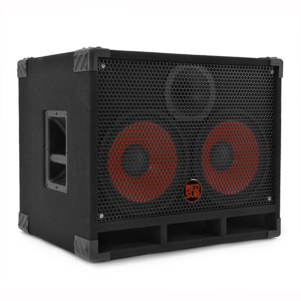redsub b210t bass cabinet 2 x 10 at gear4music. Black Bedroom Furniture Sets. Home Design Ideas