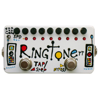 Z.VEX Ringtonett Hand Painted Guitar Pedal