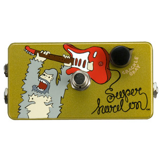 Z.VEX Super Hard-On Hand Painted Guitar Pedal