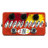 Z.Vex Super Duper 2 in 1 Hand bemalt Gitarre Pedal