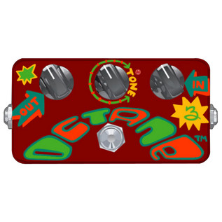 Z.VEX Octane 3 Hand Painted Guitar Pedal