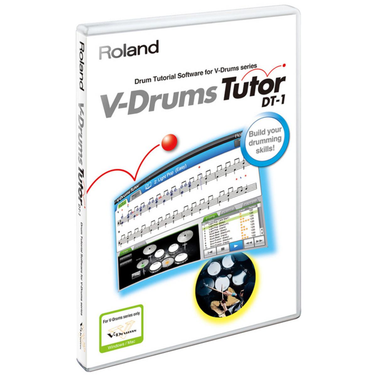 roland dt 1 v drums tutor software download