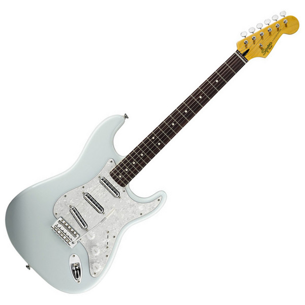 squier by fender vintage modified surf stratocaster sonic blue at gear4music. Black Bedroom Furniture Sets. Home Design Ideas