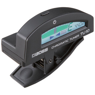 Boss TU-10 Clip-On Tuner, Black