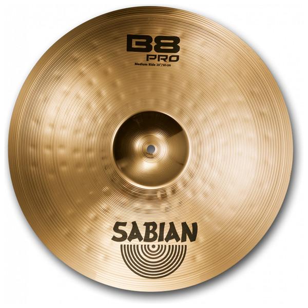 """Sabian B8 Pro 20"""" Medium Ride Cymbal, Brilliant Finish"""