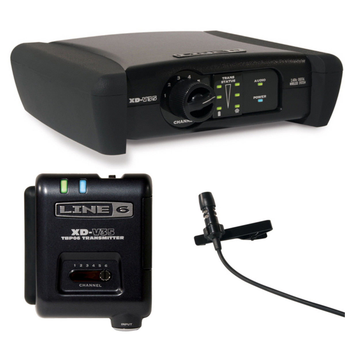 Line 6 XD V75L Digital Wireless Lavalier Mic System | Gear4music