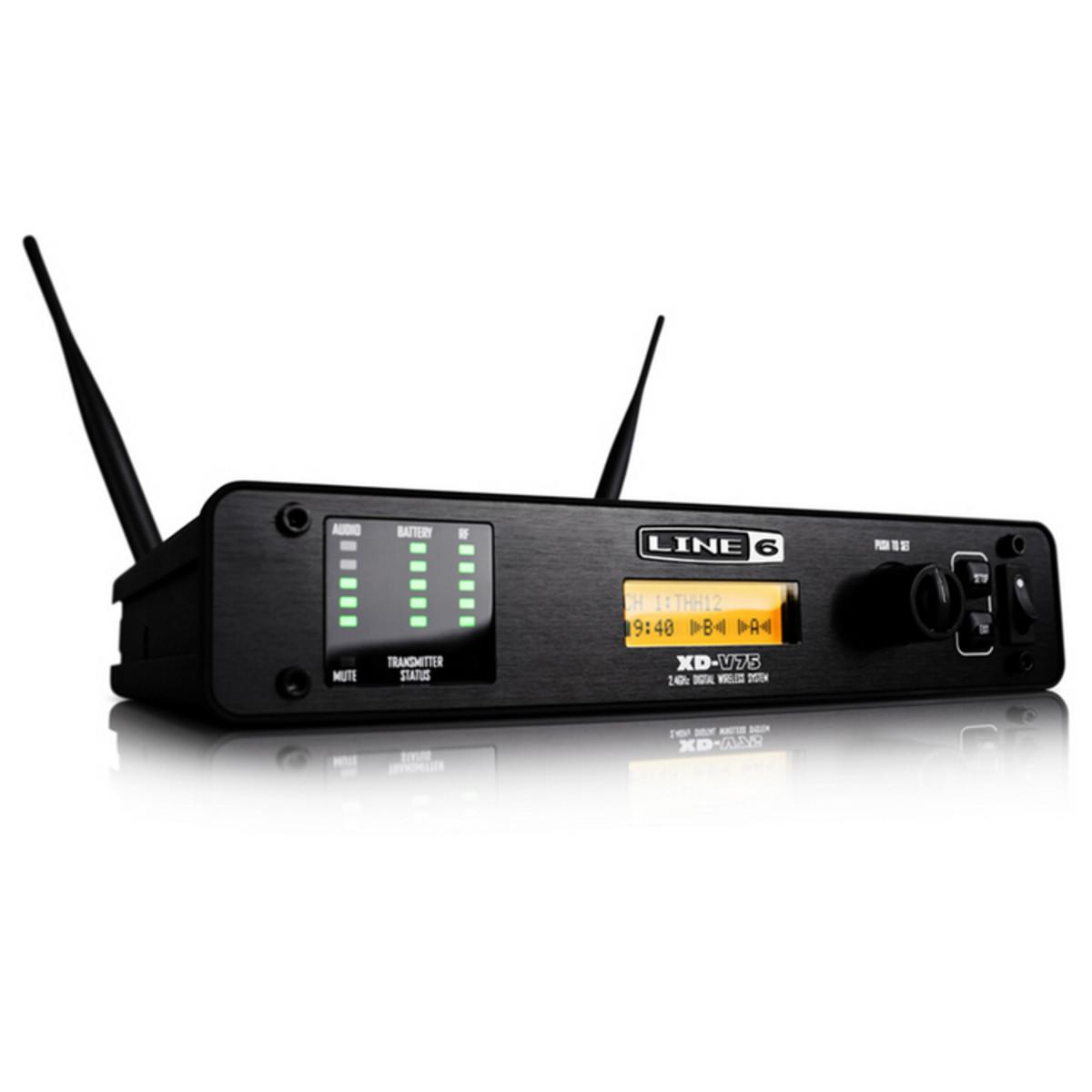 Line 6 Xd V75 Digital Wireless Handheld Mic System At