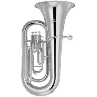 Yamaha YEB-201S Eb Student Tuba, Silver