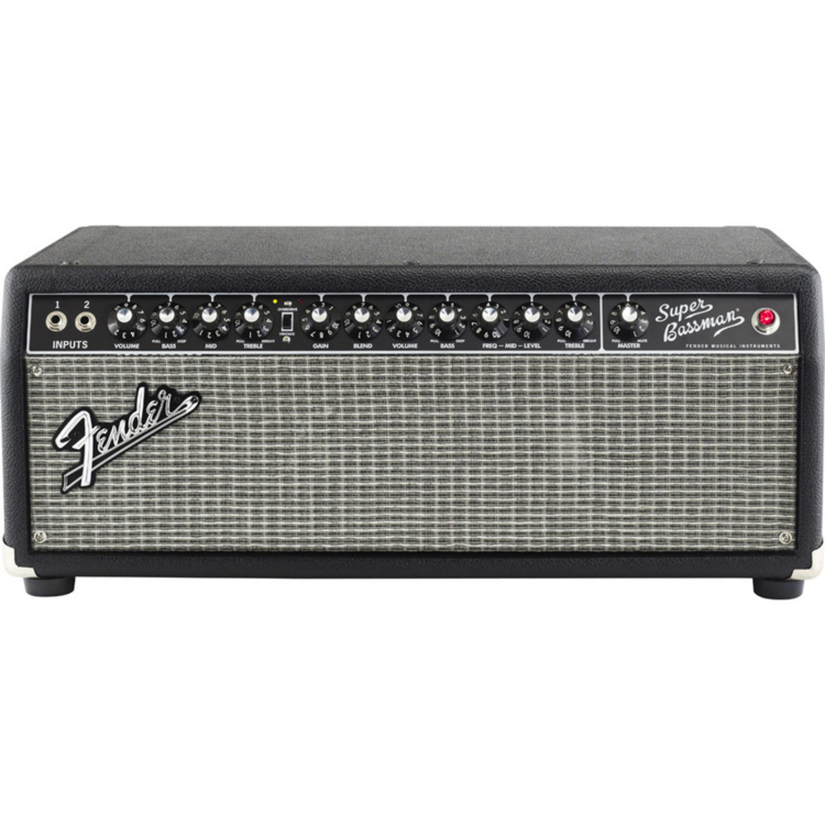 fender super bassman 300w tube amp head at gear4music. Black Bedroom Furniture Sets. Home Design Ideas