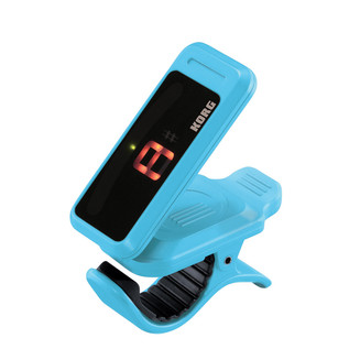 Korg Pitchclip Clip-on Tuner, Blue