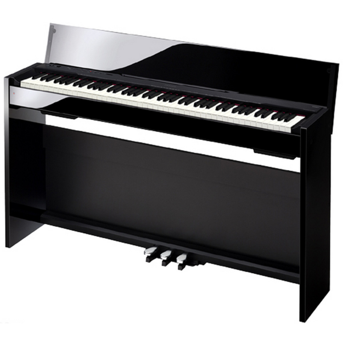casio privia px 830bp digital piano polished black nearly new at. Black Bedroom Furniture Sets. Home Design Ideas