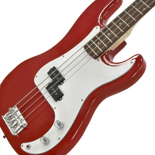Electric G-4 Bass Guitar + 150W Power Pack, Red