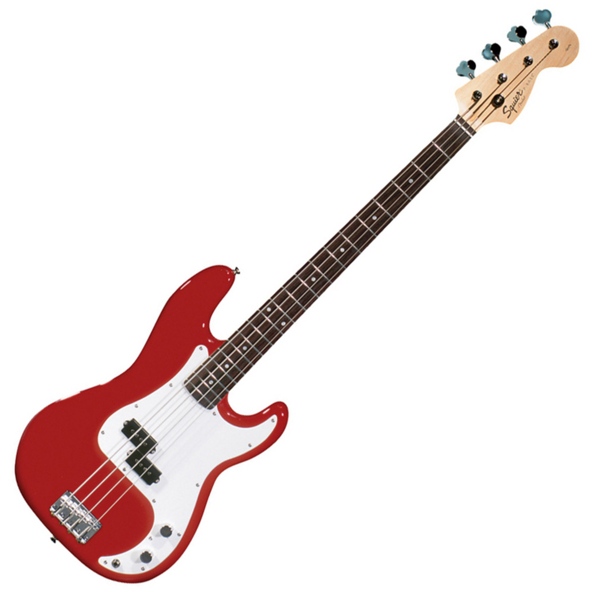 squier by fender affinity p bass rw metallic red at. Black Bedroom Furniture Sets. Home Design Ideas