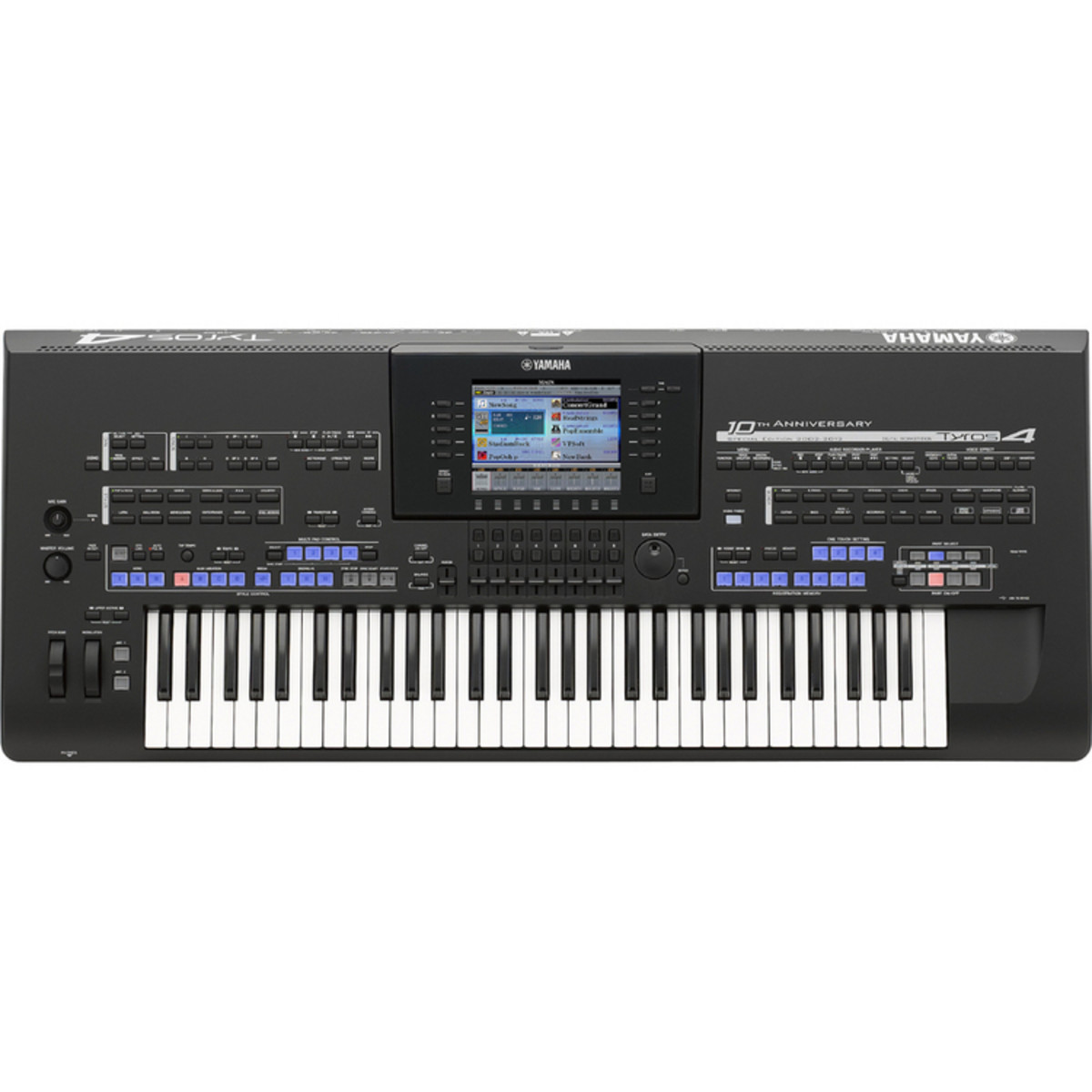 Yamaha tyros 4 10th anniversary special edition arranger for Www yamaha keyboards