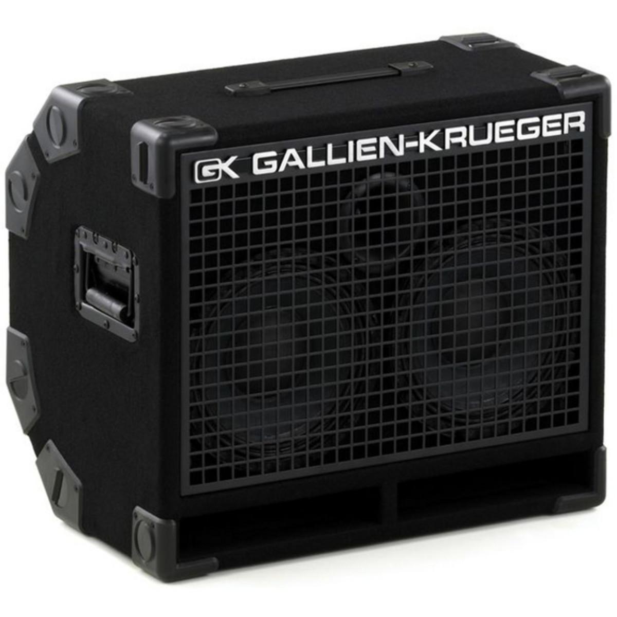 DISC Gallien Krueger 210RBH 8ohm 400w Bass Cab at Gear4music.com