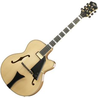 Hofner New President Archtop Jazz Electric Guitar, Natural