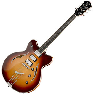 Hofner German Verythin Custom Electric Guitar, Sunburst