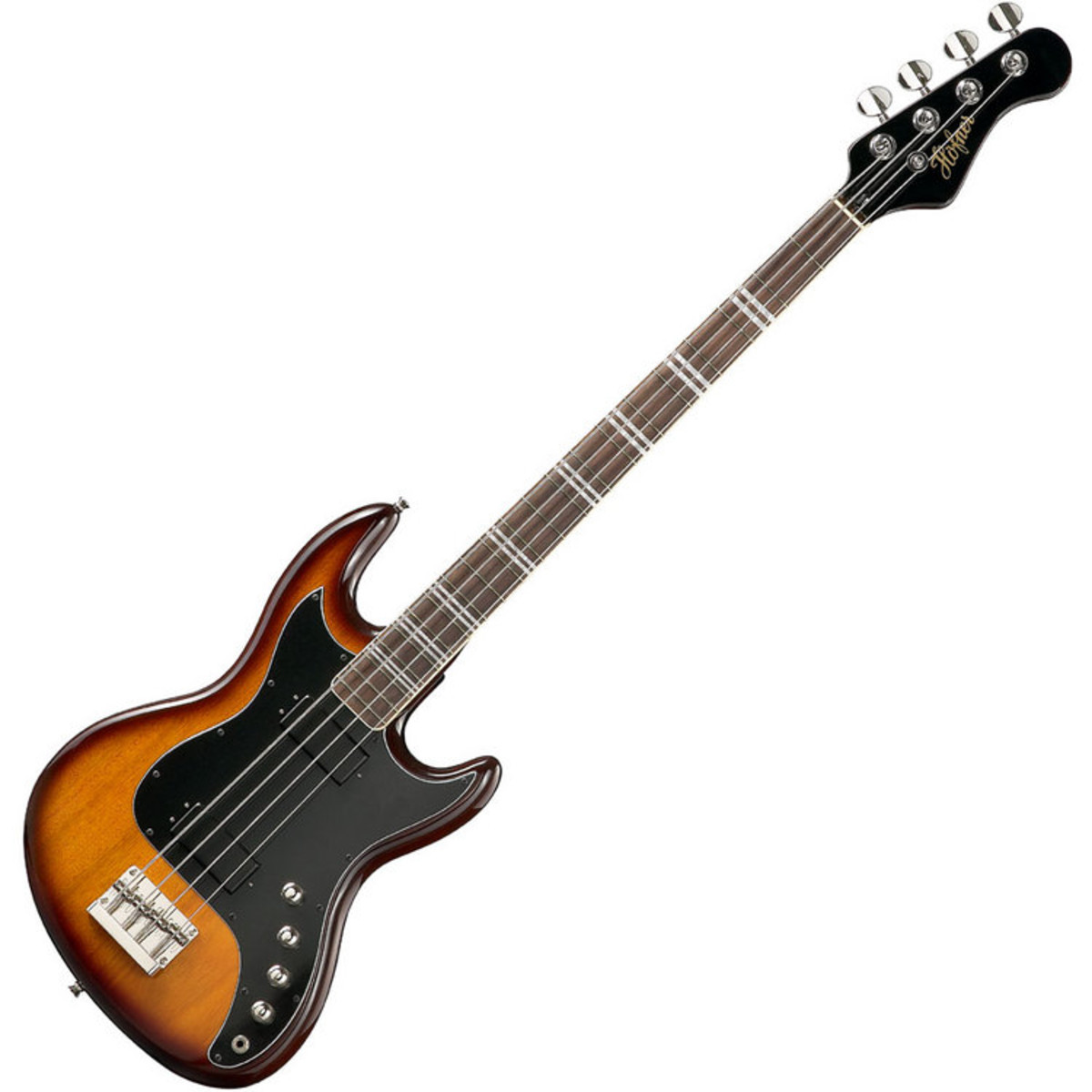 Disc Hofner Hct 185 Long Scale Bass Sunburst At Gear4music