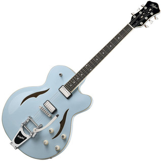 Hofner Verythin Single Cutaway Electric Guitar, Light Blue