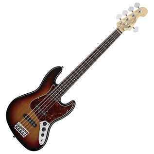 Fender American Standard 5 String Jazz Bass 2012 RW,3-Colour Sunburst