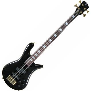 Spector Bass Euro 4LX Ian Hill Bass Guitar, Black Gloss