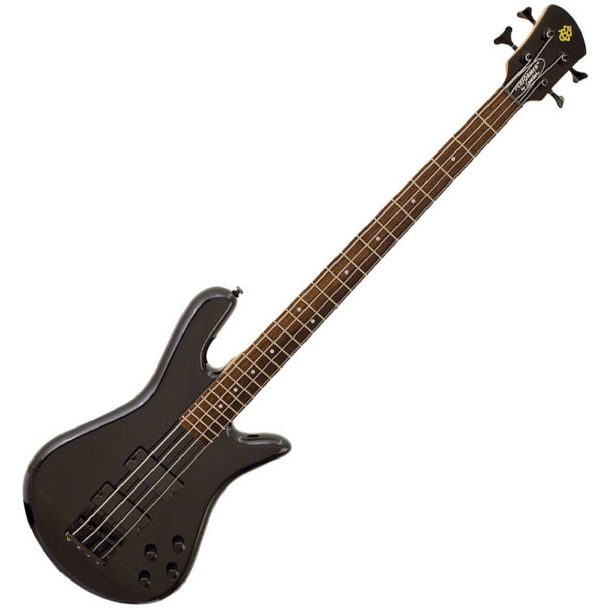 disc spector bass performer 4 bass guitar, black at gear4music