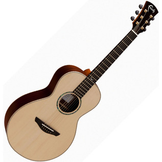 Faith Mercury Parlour Acoustic Guitar, Hi Gloss Natural