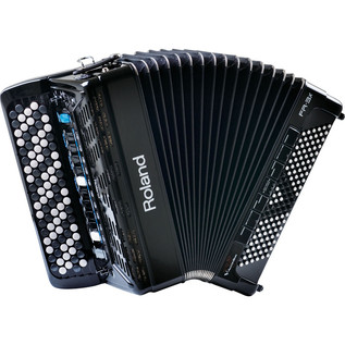 Roland FR-3XB V-Accordion, Black, with Bag