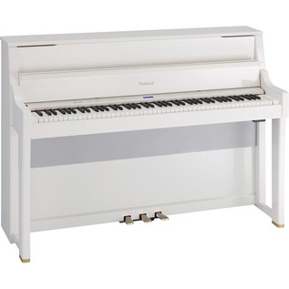 Roland LX-15PW Upright Digital Piano Polished White