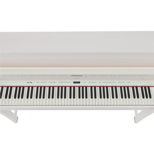 Roland LX-15PW Upright Digital Piano Polished White Keys
