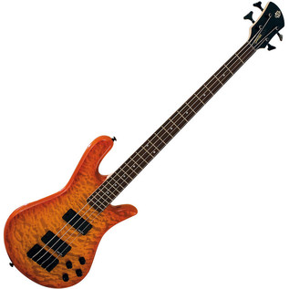 Spector Bass Legend 4 Classic Bass Guitar, Amber