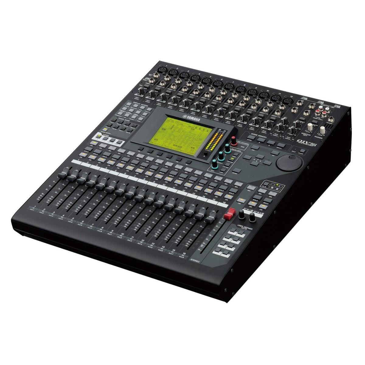 Yamaha 01v96i digital mixing console at for Yamaha digital console