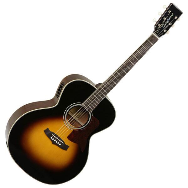 Tanglewood TW60 Electro Acoustic Guitar, Vintage Sunburst