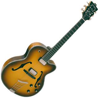 Hofner German President Custom Electric Guitar, Sunburst