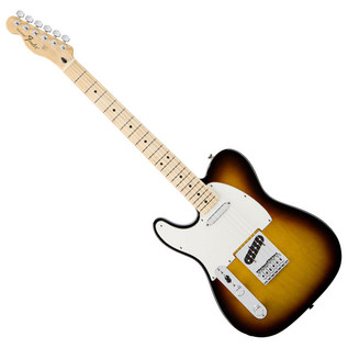 Fender Standard Telecaster Left Handed, Brown Sunburst