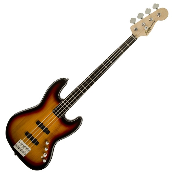 Squier Deluxe Jazz Bass IV Active, Sunburst