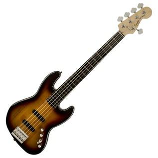 Squier Deluxe Jazz Bass V Active, Sunburst