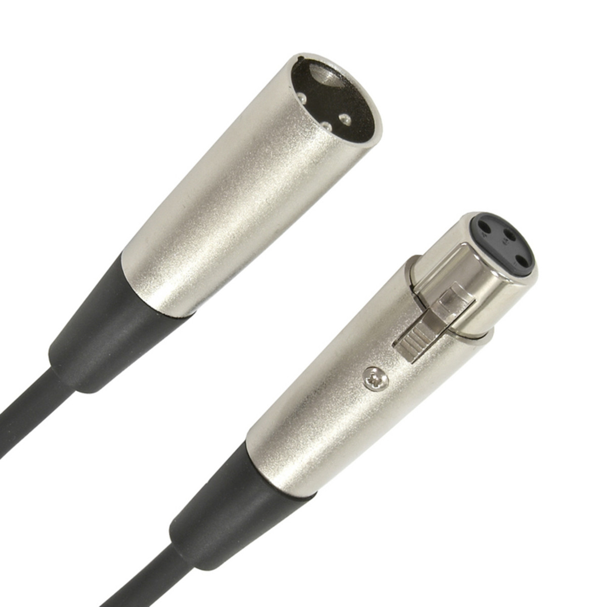 XLR (F) - XLR (M) Microphone Cable, 3m at Gear4music.com