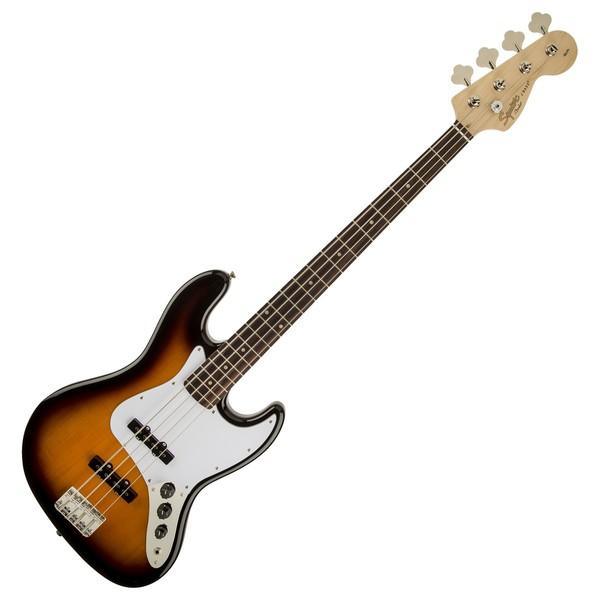 Squier Affinity Jazz Bass, Brown Sunburst