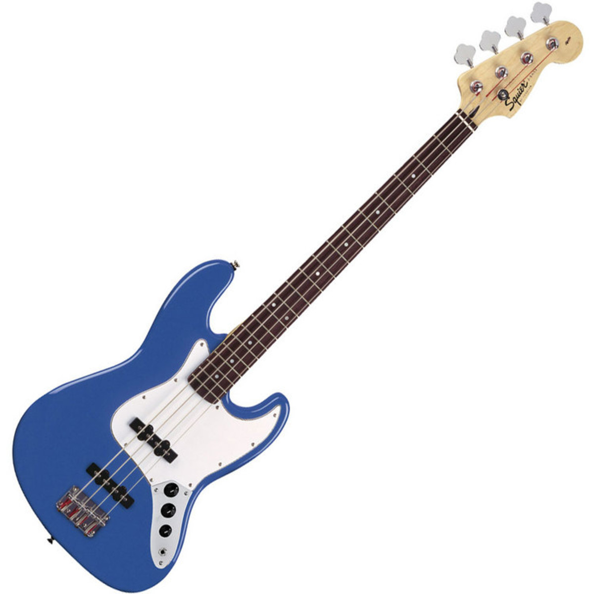 squier by fender affinity jazz bass metallic blue at gear4music. Black Bedroom Furniture Sets. Home Design Ideas