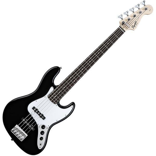 Squier by Fender Affinity Jazz Bass V 5-String, Black