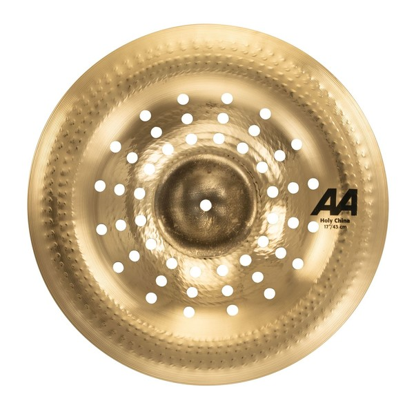 Sabian 17 AA Holy China Brilliant Finish