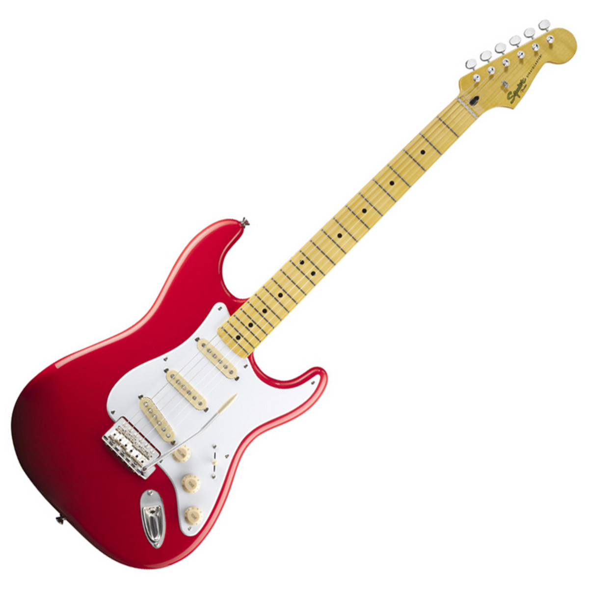 squier by fender classic vibe 50s stratocaster fiesta red at gear4music. Black Bedroom Furniture Sets. Home Design Ideas