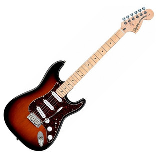 Squier by Fender Standard Stratocaster MN, Antique Burst