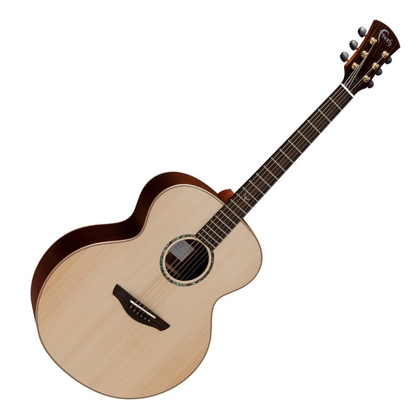 Faith Jupiter Jumbo Acoustic, Hi Gloss Natural Front View
