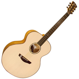 Faith Trembesi Jupiter Jumbo Acoustic Guitar, Natural
