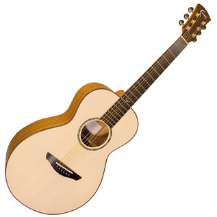 Faith Trembesi Mercury Parlour Acoustic Guitar, Natural