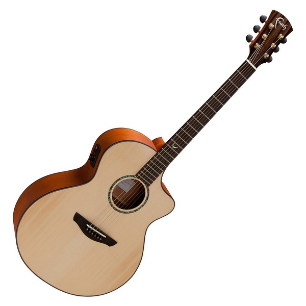 Faith Neptune Baby Jumbo Cutaway Electro Acoustic Front View