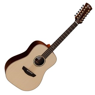 Faith Saturn 12-String Dreadnought Acoustic, Hi Gloss Front View